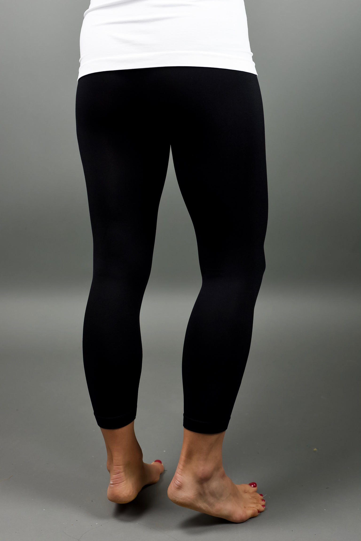 Seamless Black Leggings