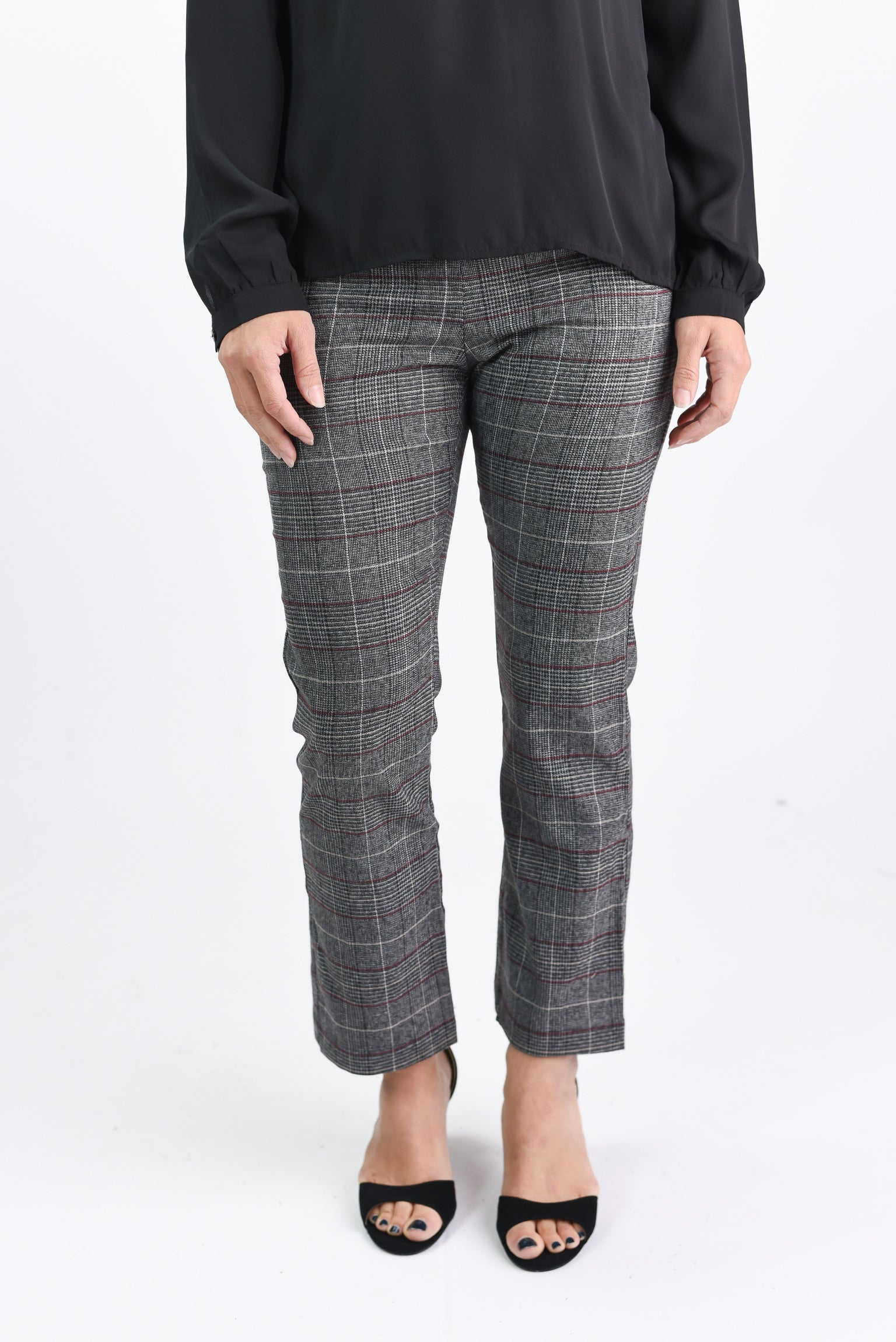 Sparking Motivation Plaid Trouser Pant