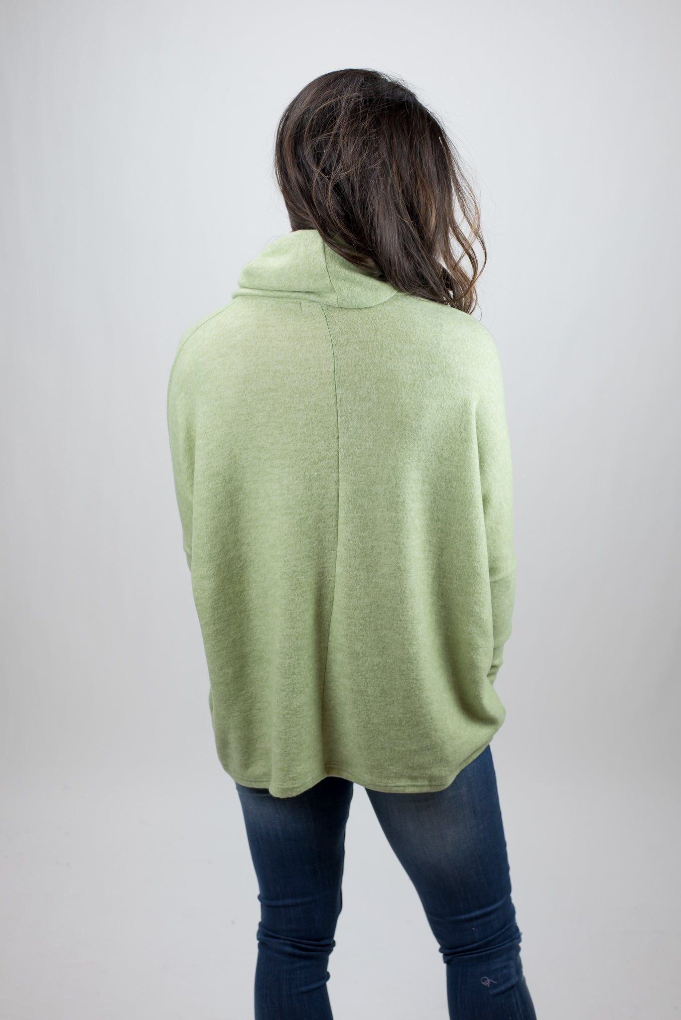Snowy Days Long Sleeve Turtle Neck - Sage