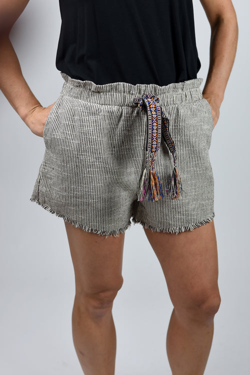 Street Chic Aztec Inspired Shorts