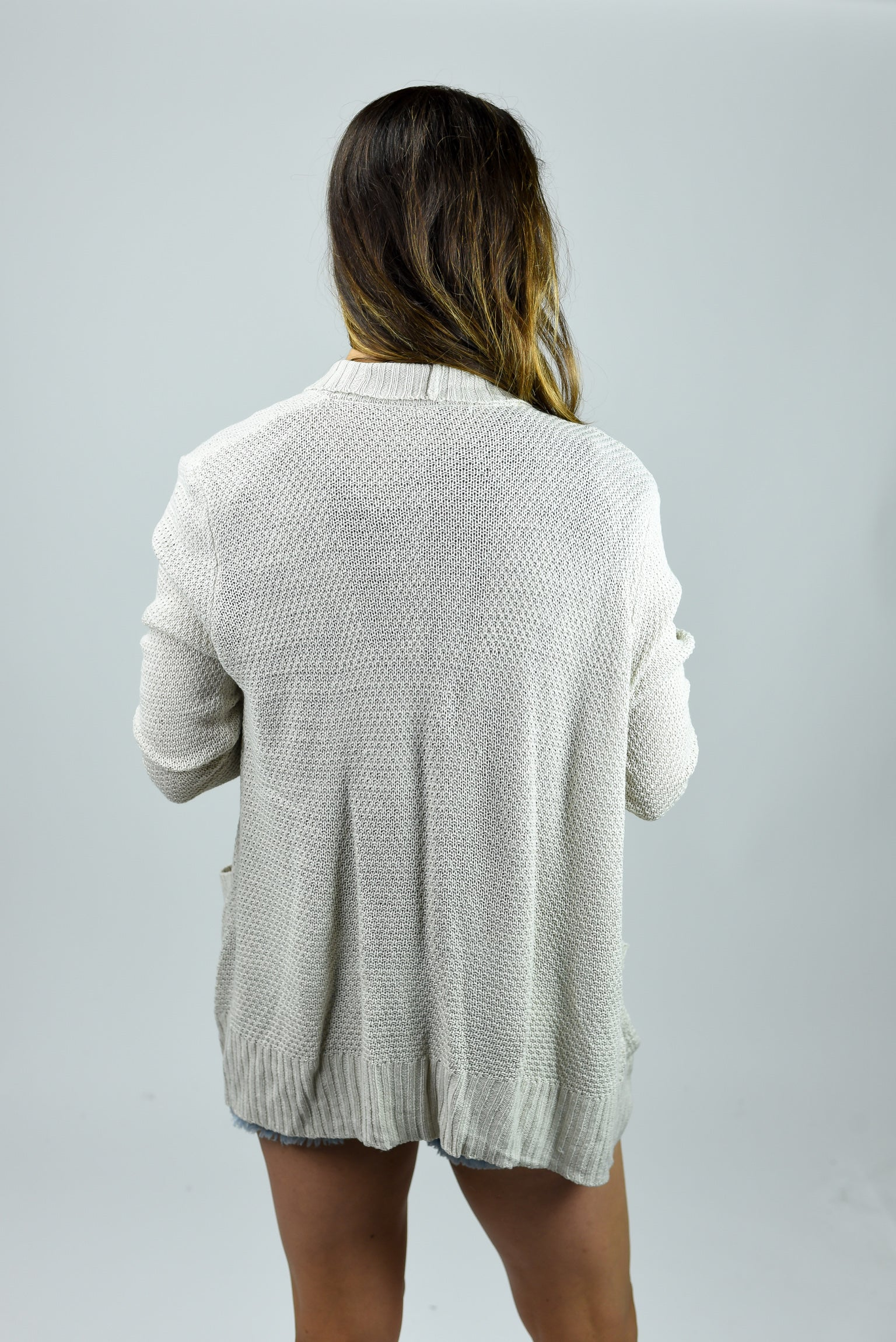 My Everyday Cardigan - Oatmeal
