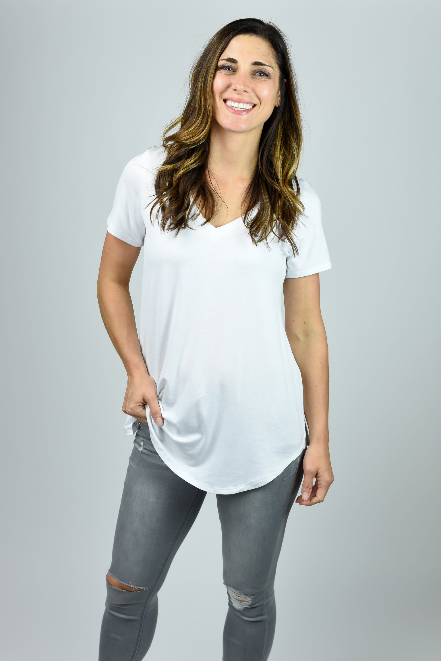 On Demand Basic White Tee