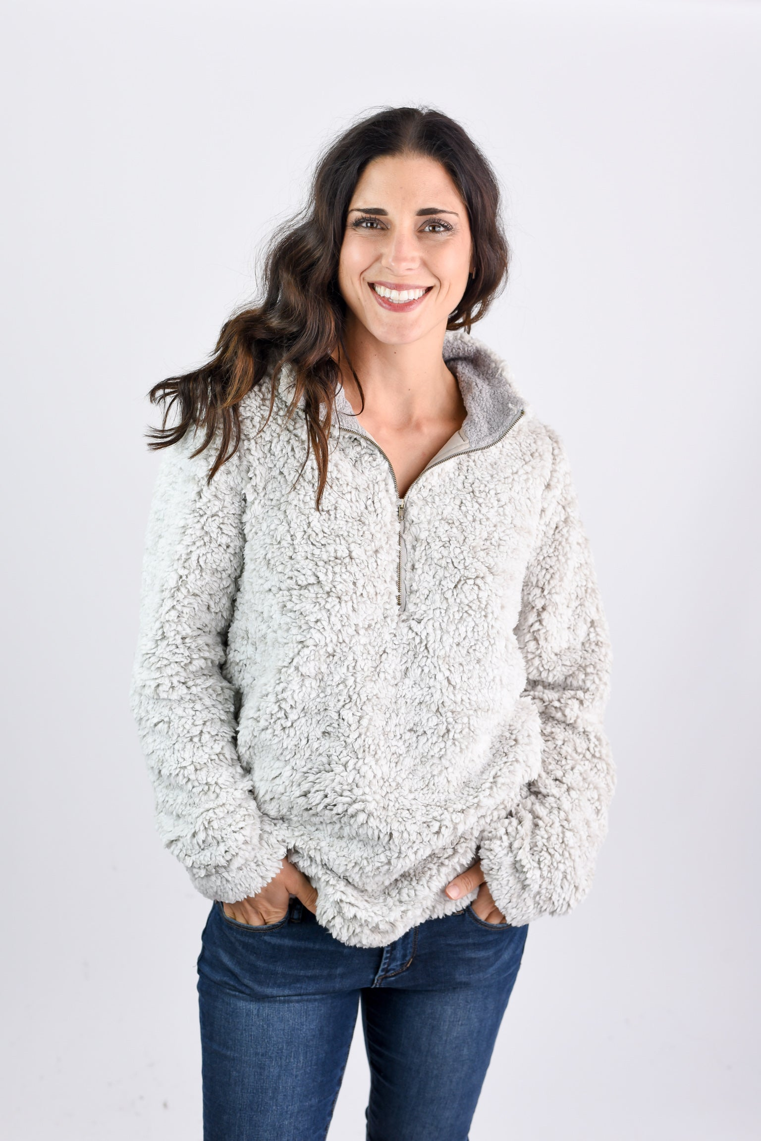 Making Outdoor Plans Sherpa 1/4 Zip Pullover