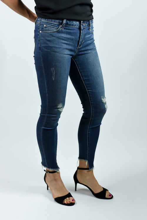 The Newest Look Distressed Skinny Jeans