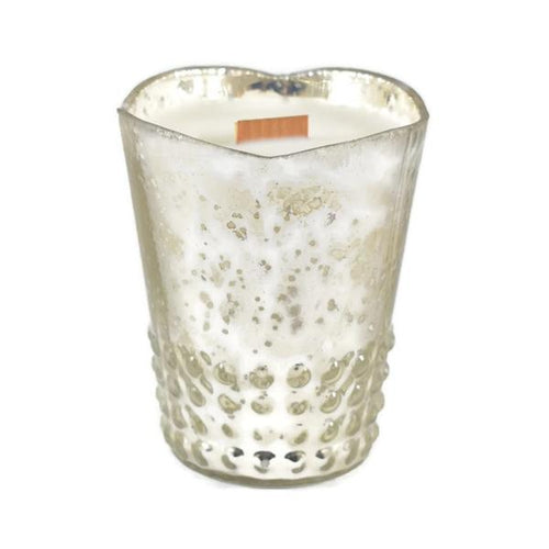 Fresh Cotton Glass Votive Candle