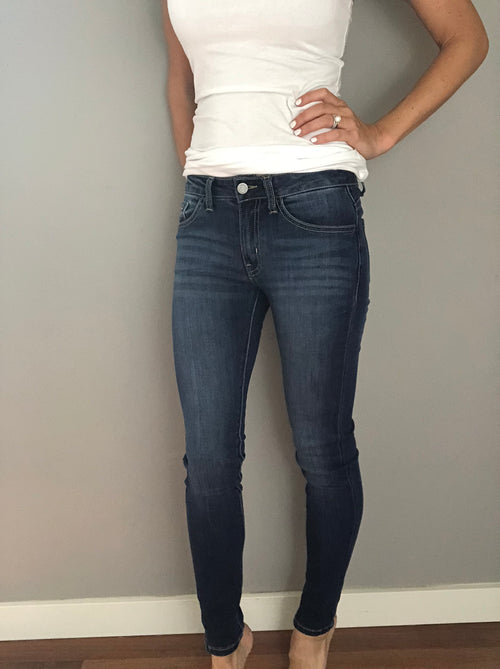 Stand Out Dark Wash Skinny Denim Jeans