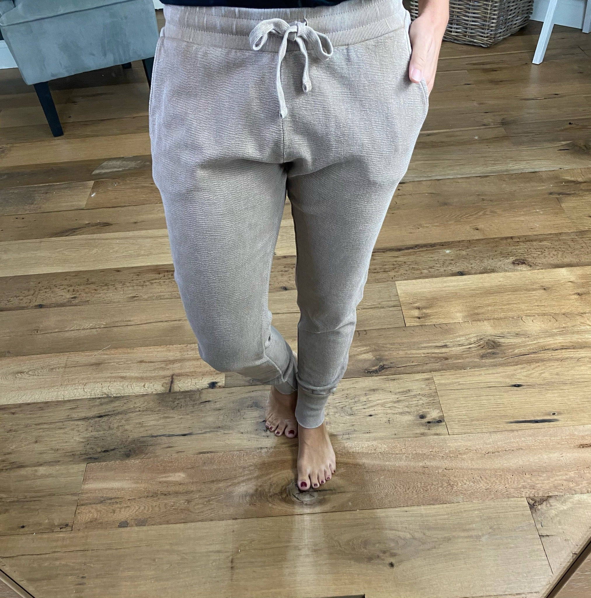 A Thousand Years More Mineral Wash Joggers--Multiple Options