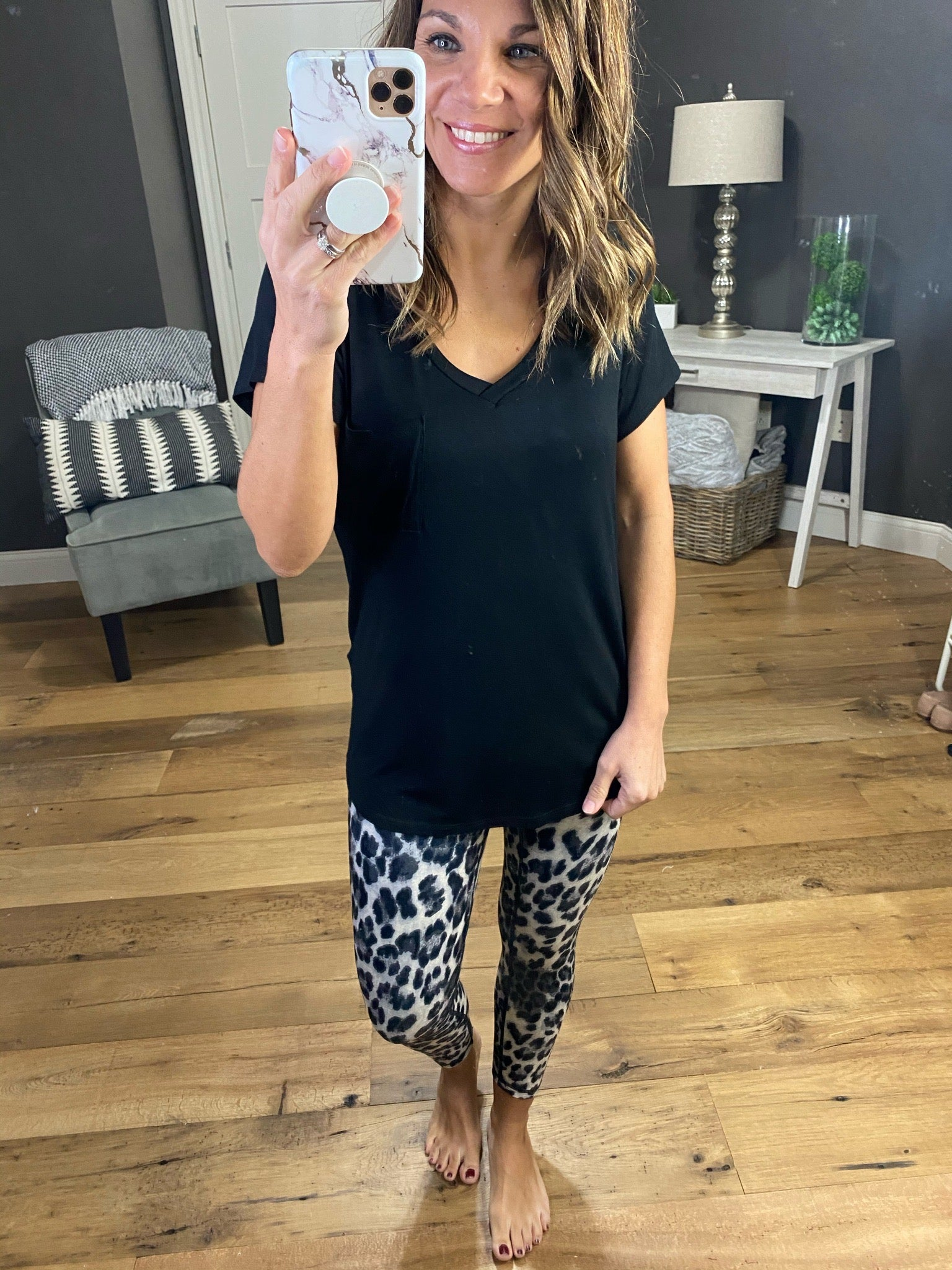 Born To Run Leopard Carpi Legging- Multiple Options