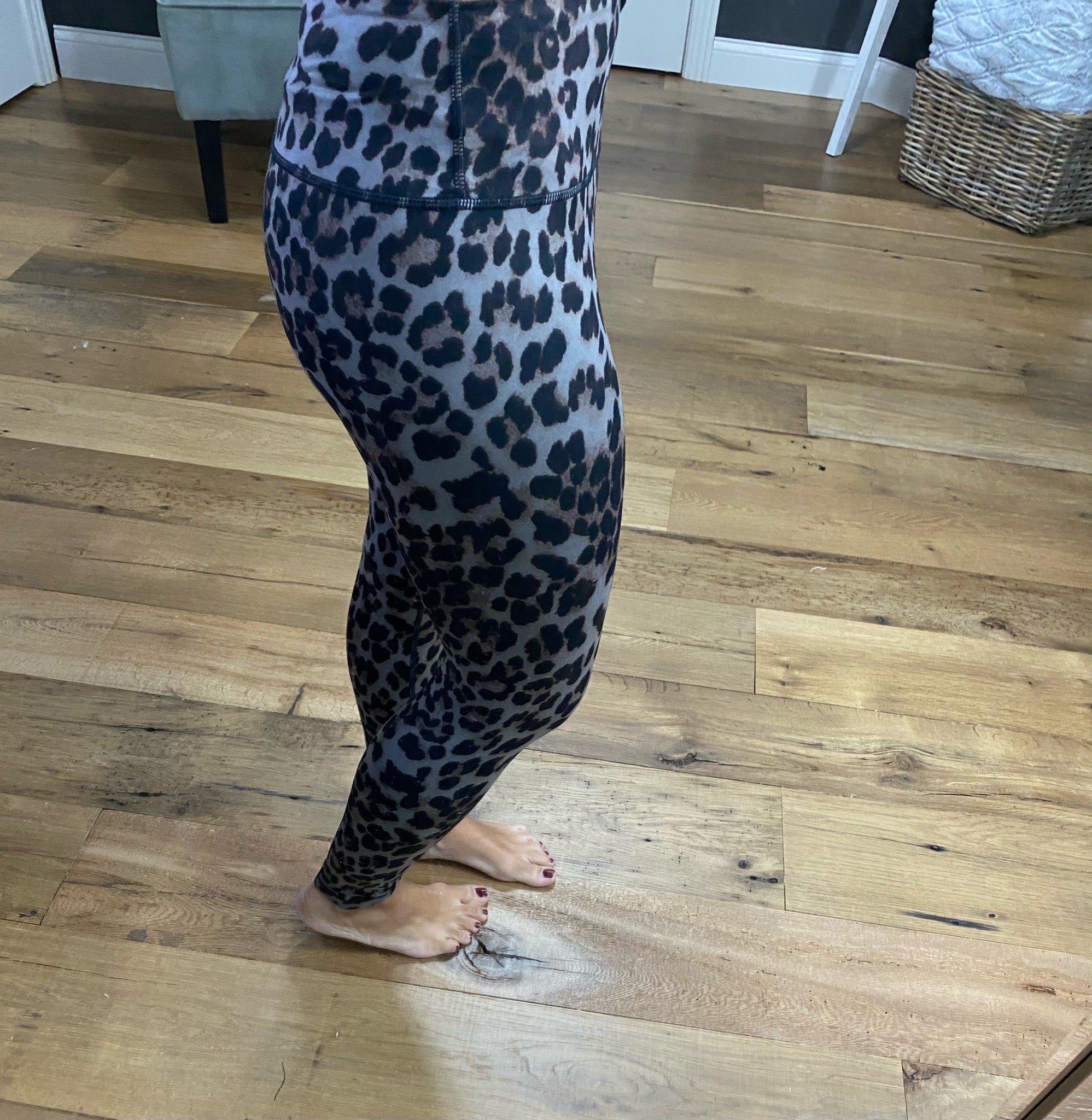 Keep Holding On- Leopard High Waisted Leggings- Multiple Options