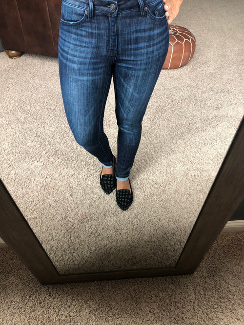 Moral Of The Story Mid-high Rise Non Distressed Super Skinny Jean