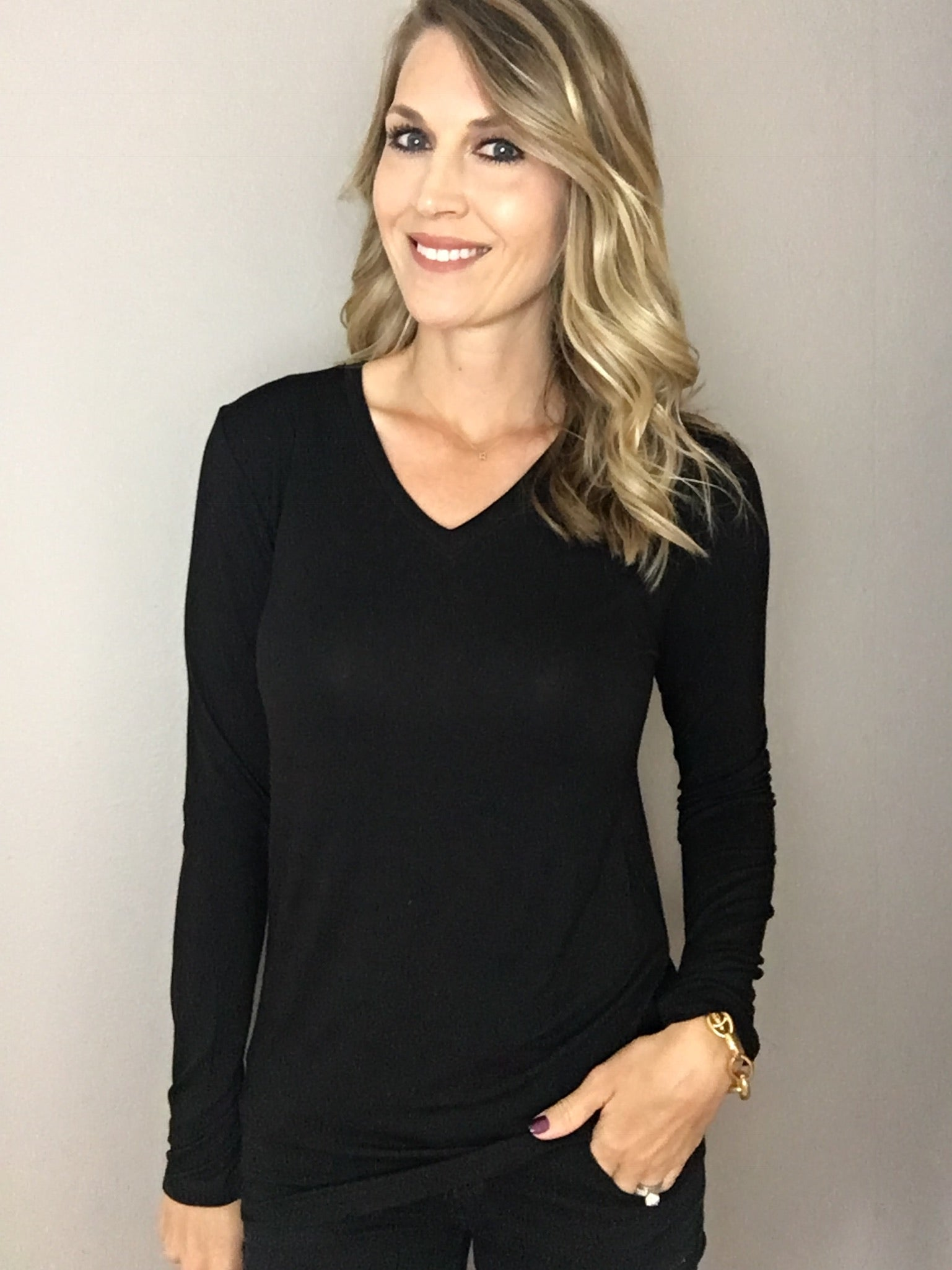 All The Ways Layering Long Sleeve- Black