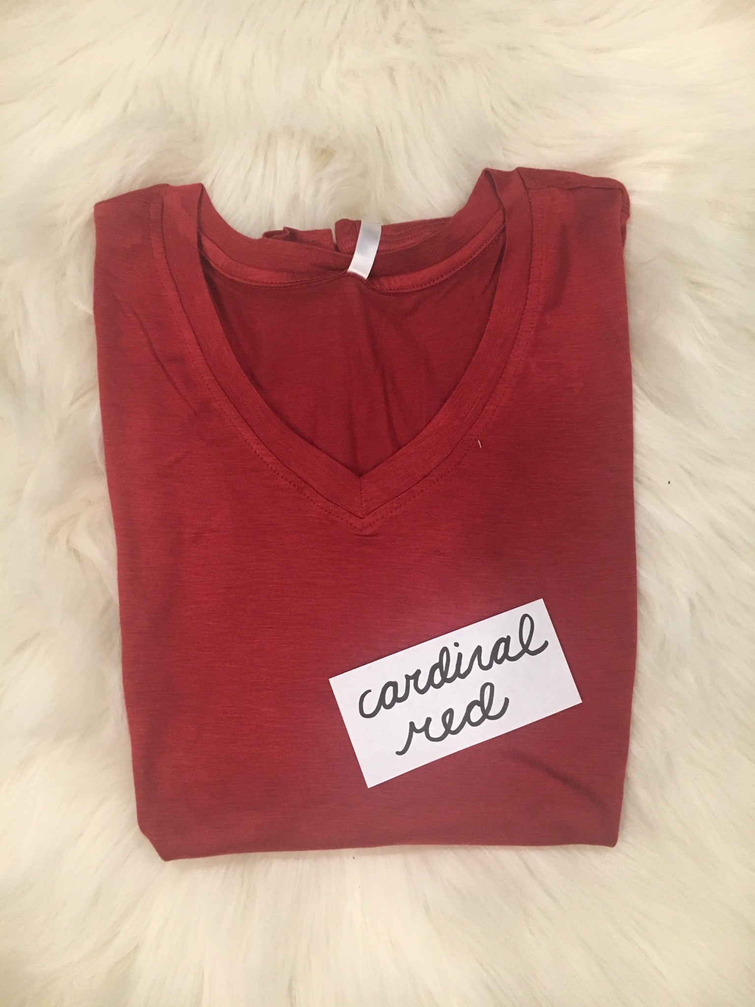 Must Have Essential V-Neck Long Sleeve (Multiple Colors Avail)