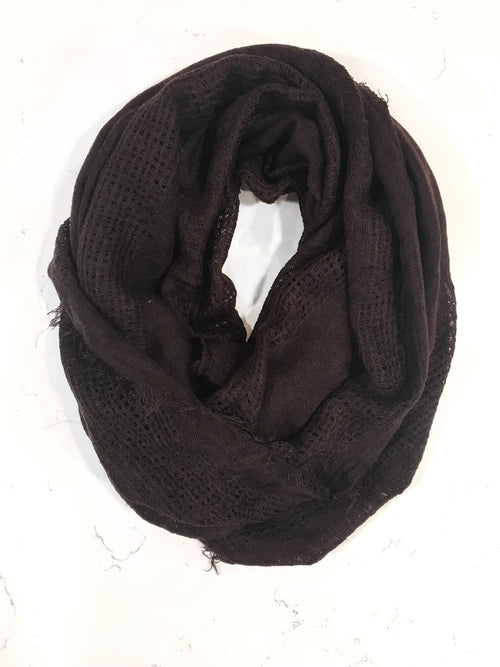 Infinite Love Scarf - Burgundy