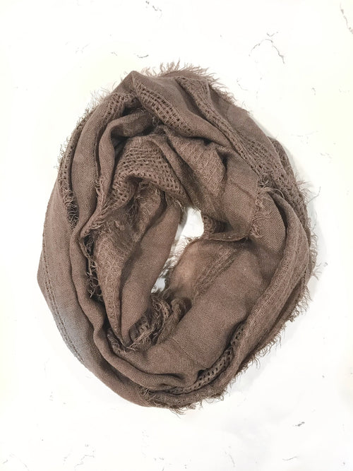 Infinite Love Scarf - Mauve