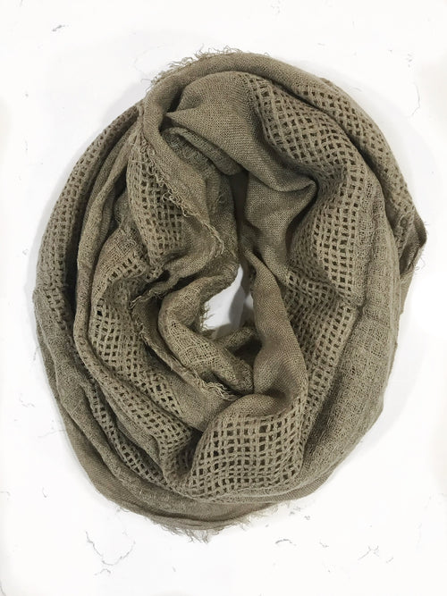 Infinite Love Scarf - Taupe