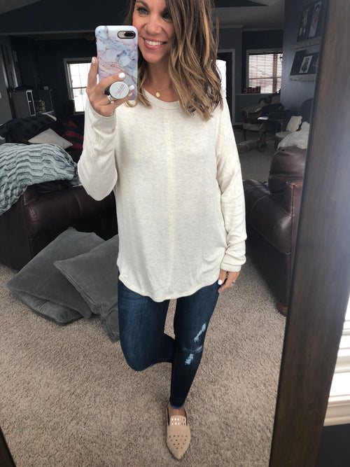 Easy Going Long Sleeve - Oatmeal