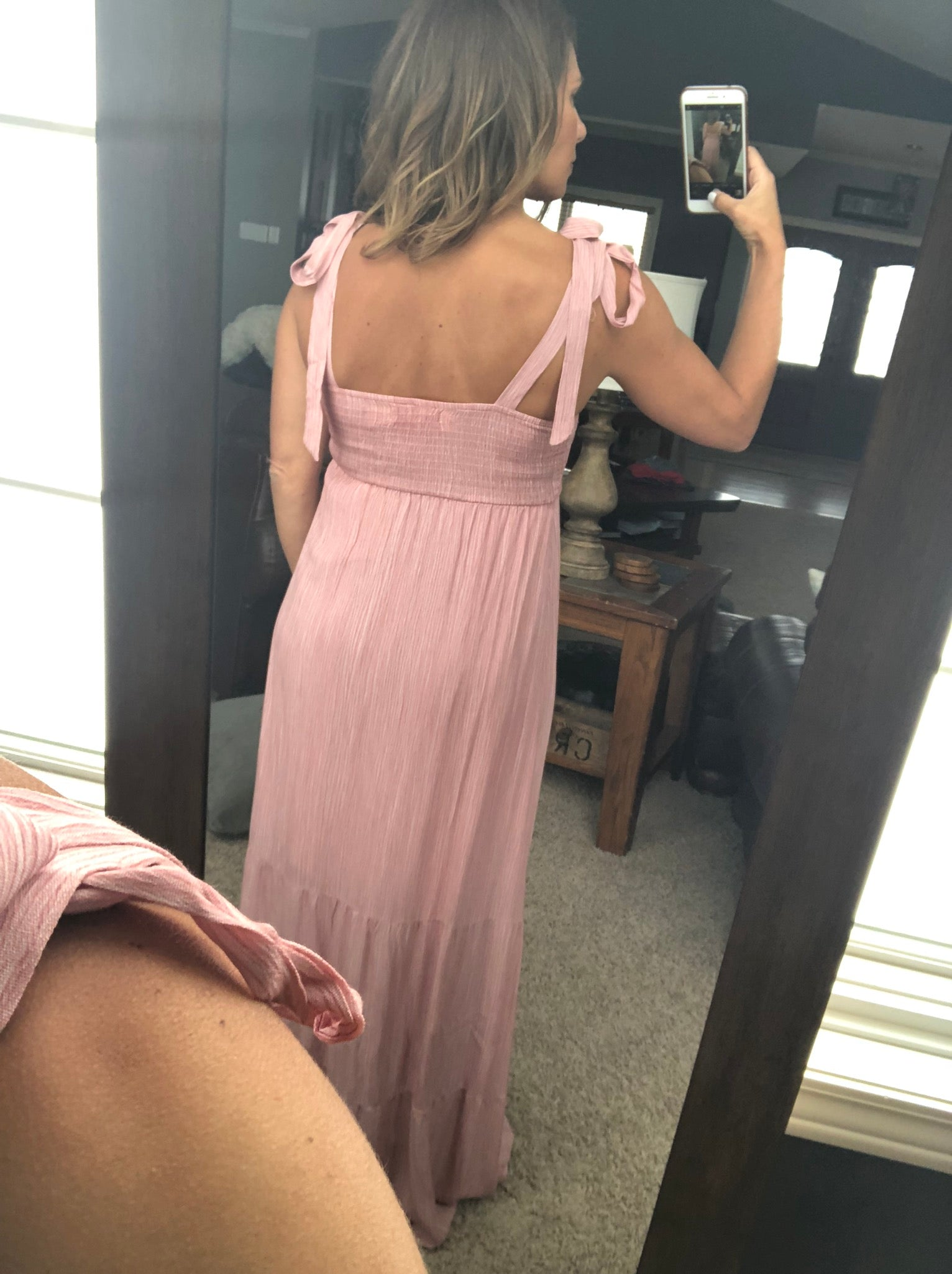 Better With You Pink Maxi Dress