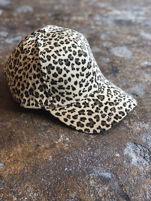 Your Wild Side Leopard Print Baseball Hat
