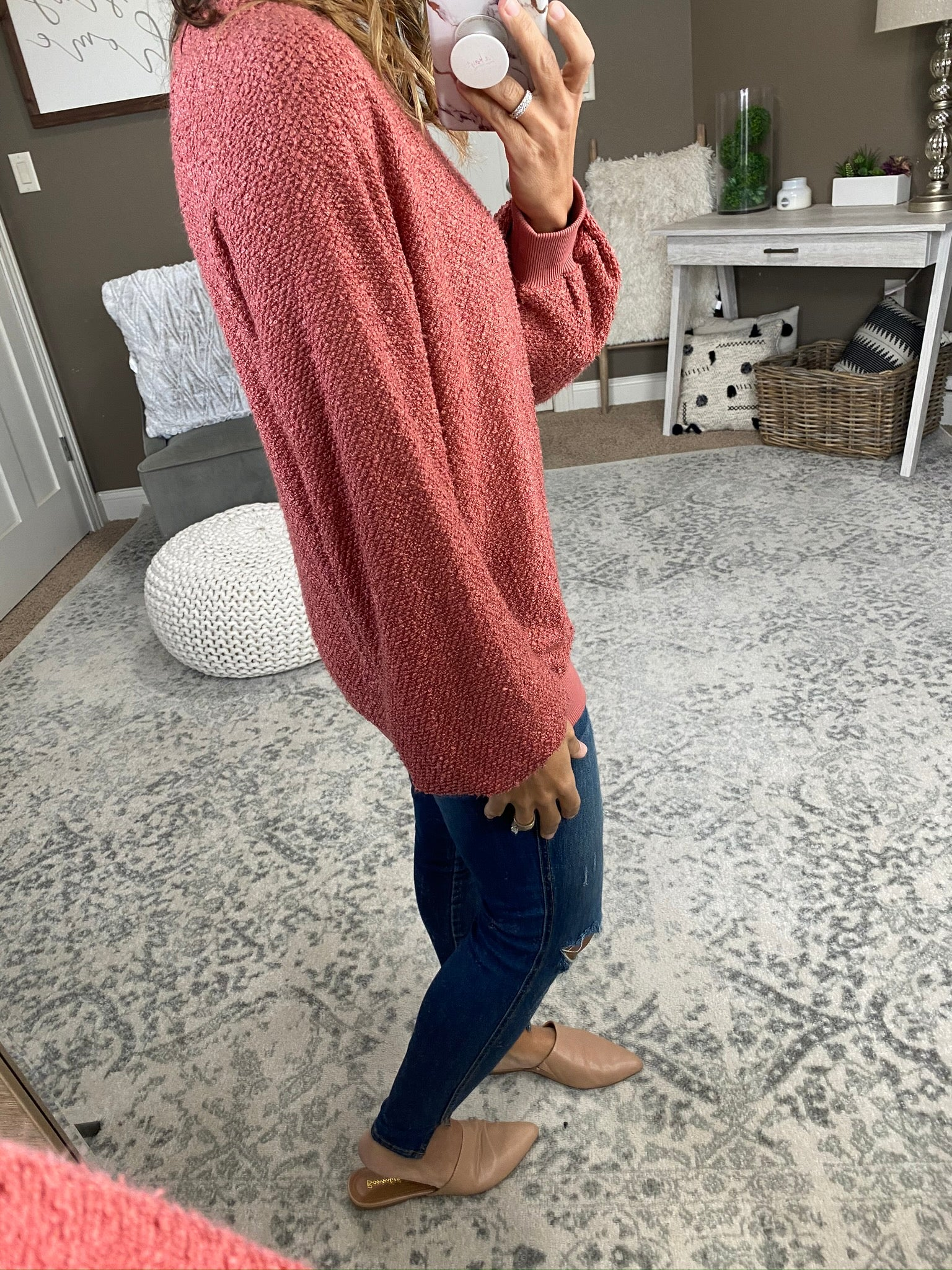 Always Will Be Soft Knit Crew Sweater--Multiple Options