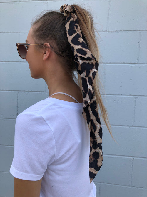 My Spirit Animal Print Hair Scarf & Scrunchie
