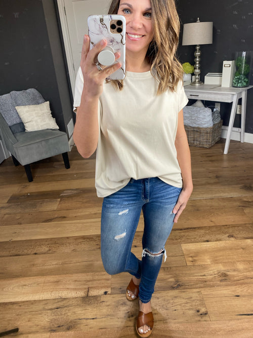 Best of The Best Scoop Neck Tee- Multiple Options