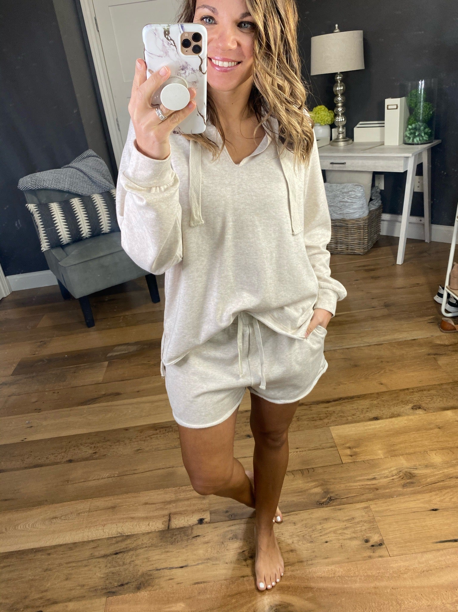 Dreams Of You Hoodie & Shorts Set--Multiple Options