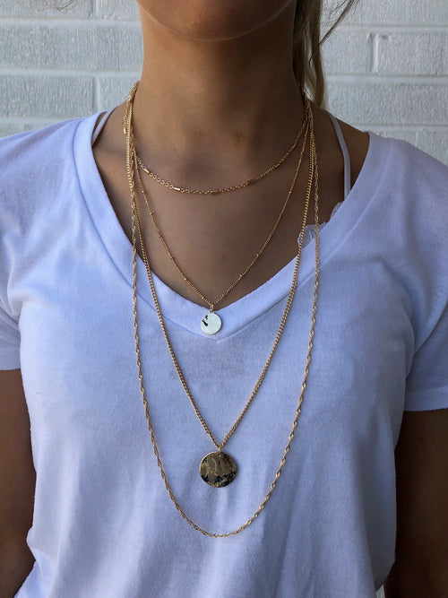 Golden Dreams Layered Necklace