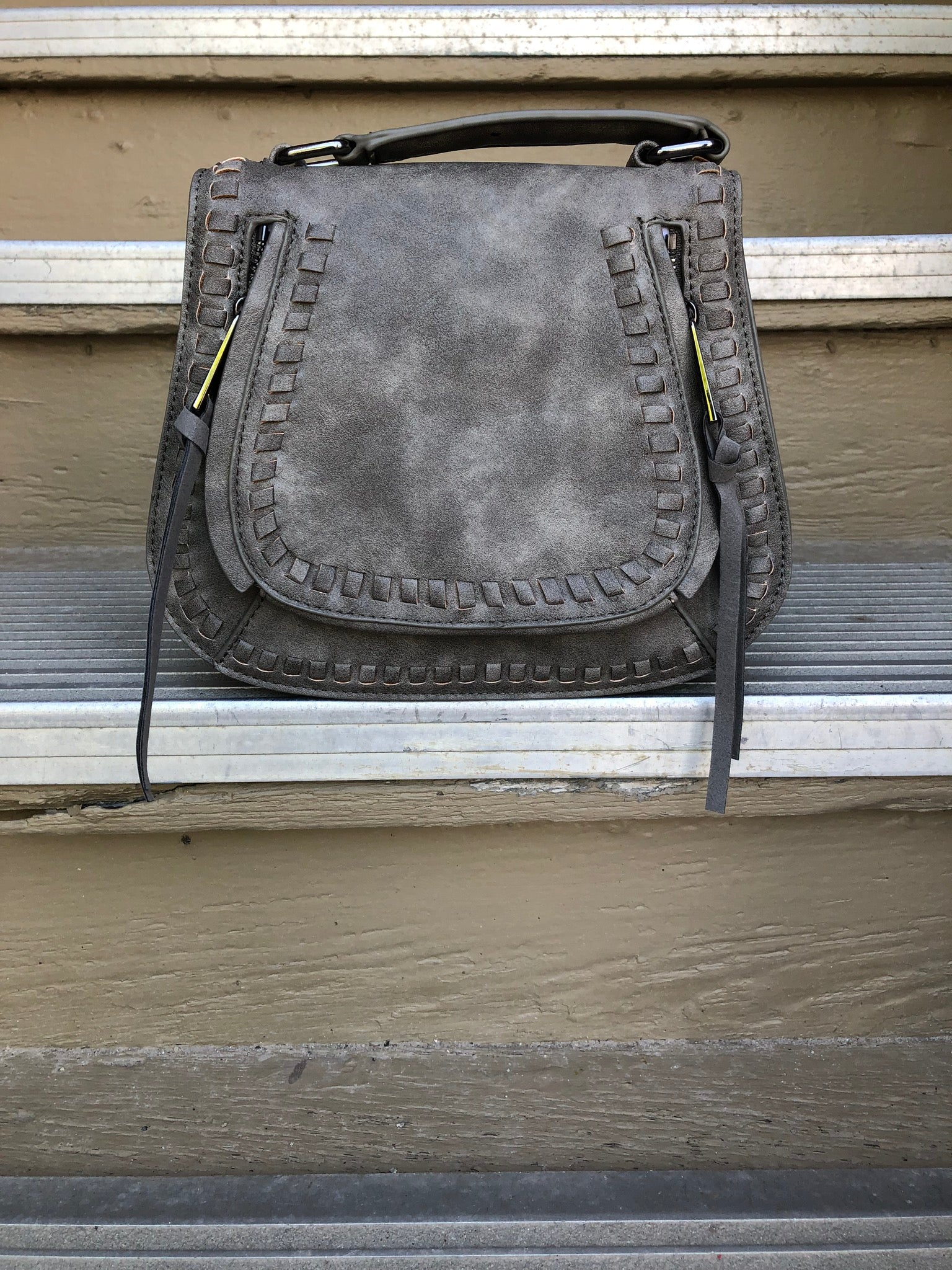 Keeping It All Together Small Horseshoe Crossbody Purse- Multiple Options