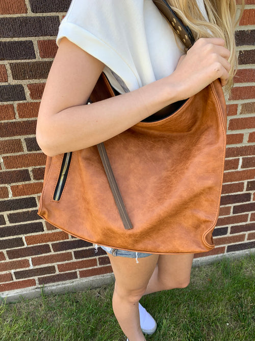 Something About The Chase Shoulder Purse -Multiple Color Options
