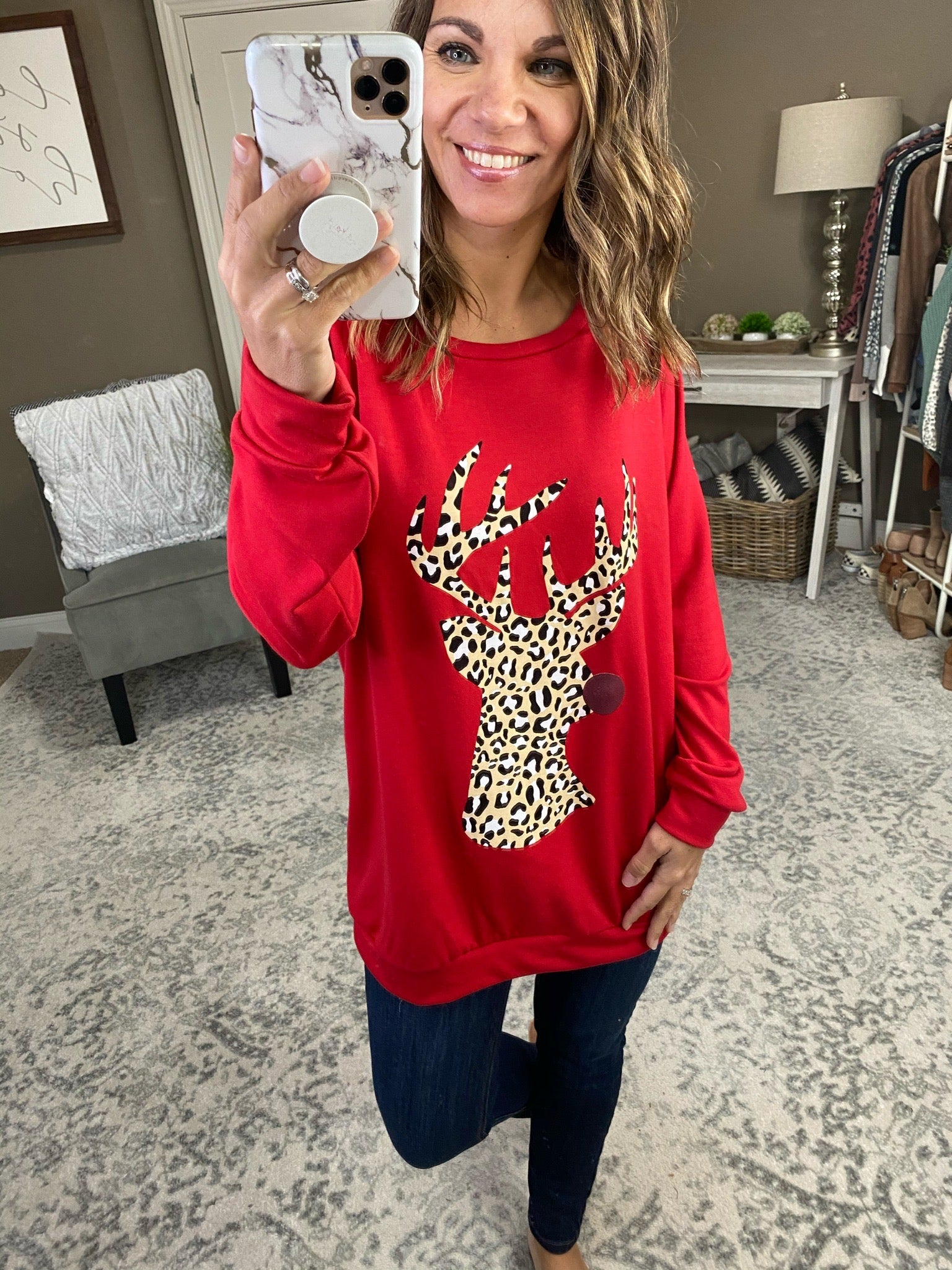 Rudolph the Red Nosed Reindeer Long Sleeve--Multiple Options
