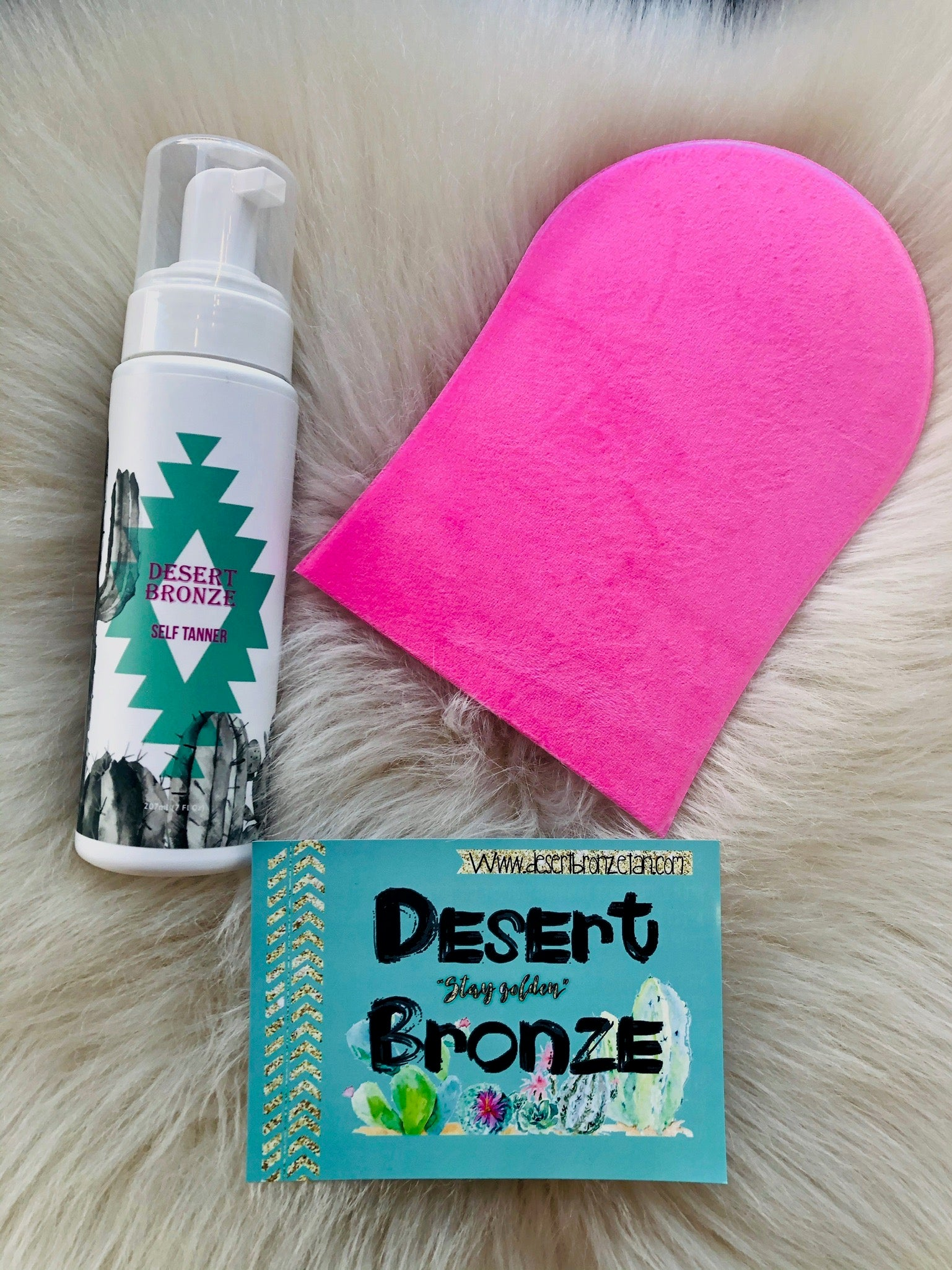 Desert Bronze Self Tanner Mousse
