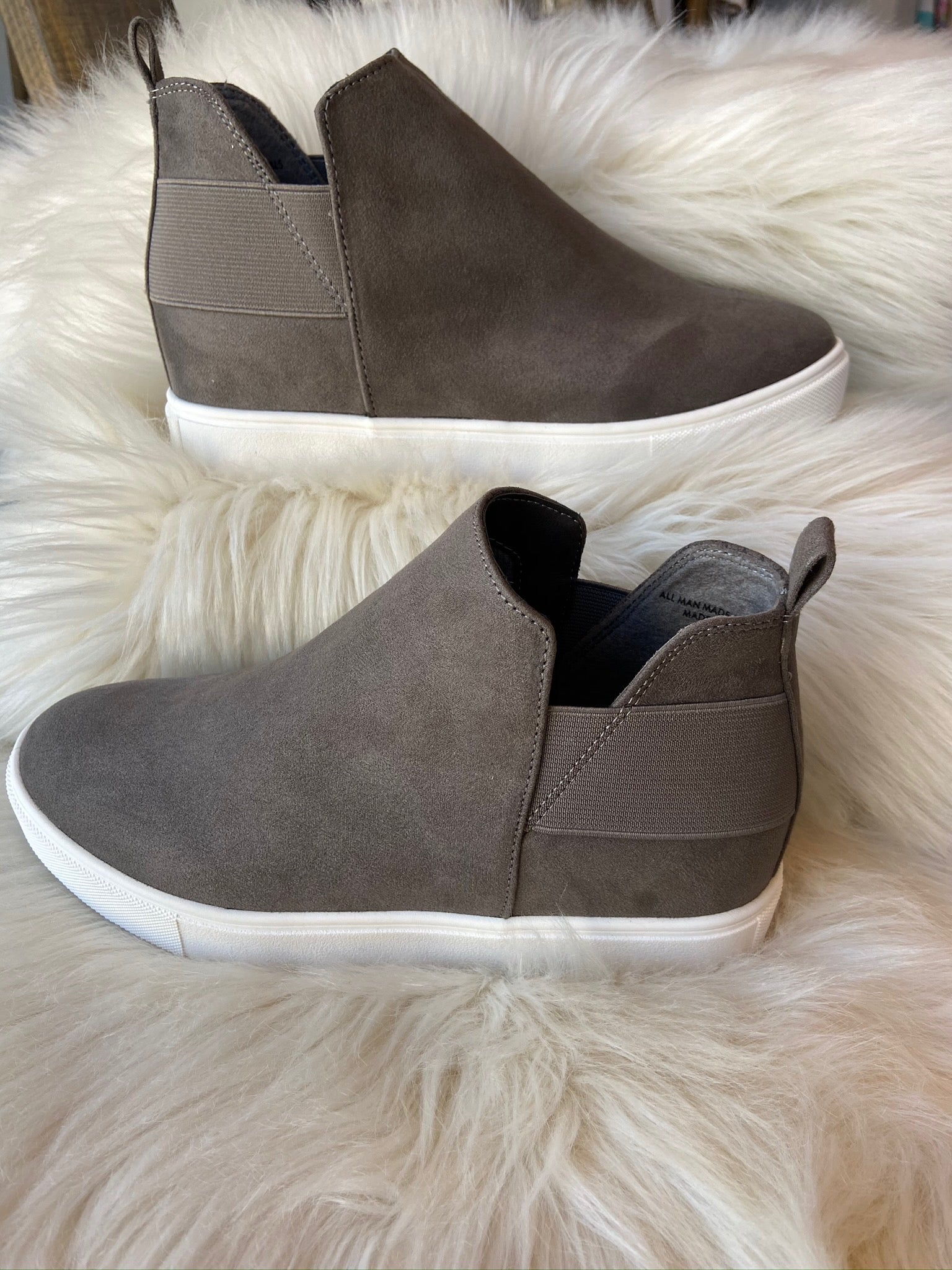 Winding Roads Wedge Sneakers--Multiple Options