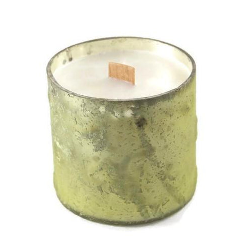 Morning Dew Glass Votive Candle