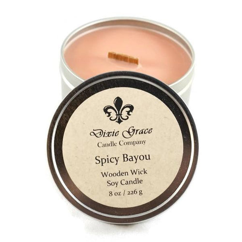 Spicy Bayou Candles
