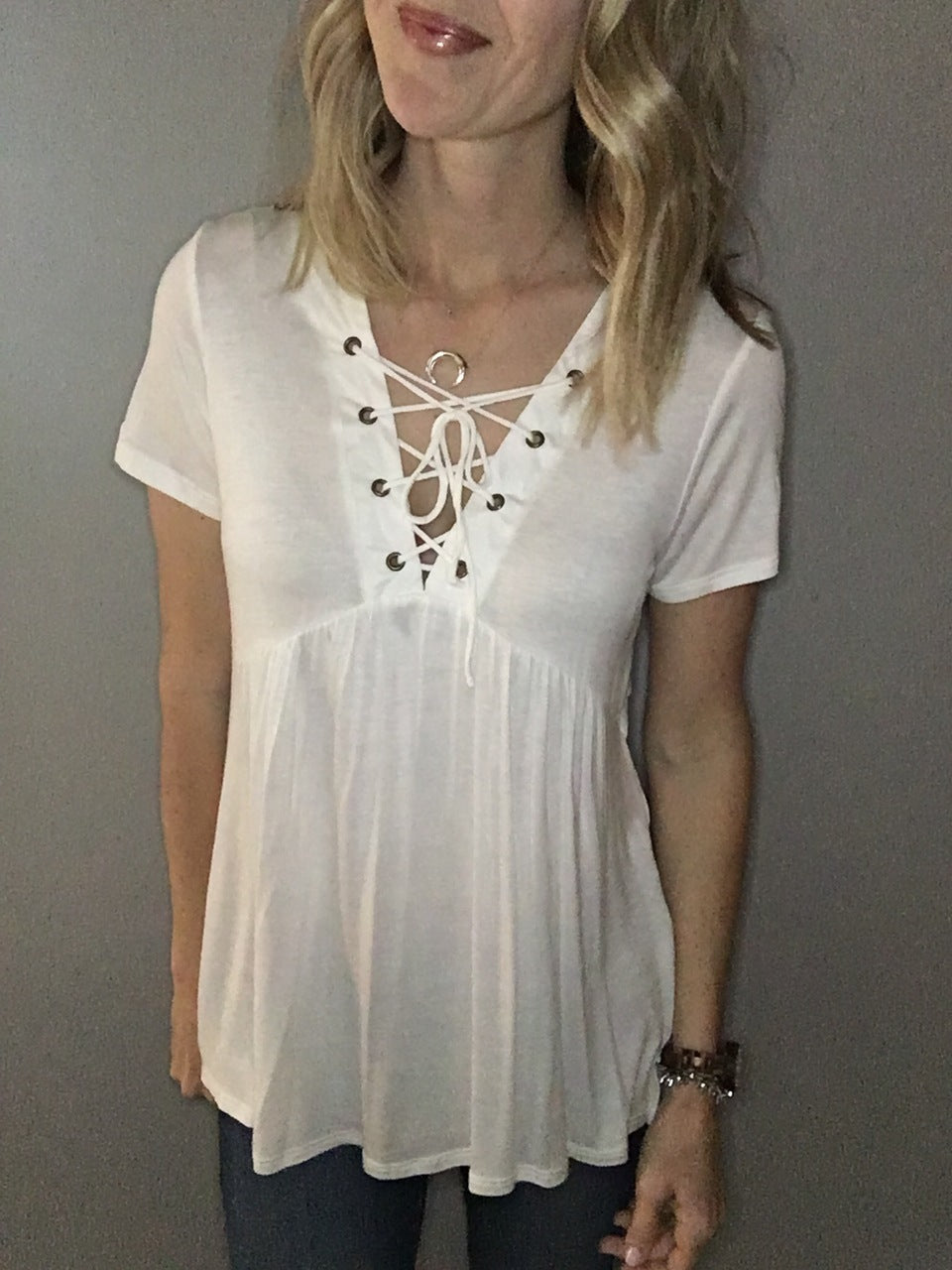 Sweet Innocence Top - White