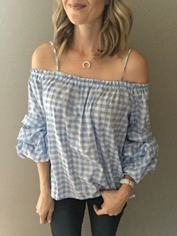 Sunshine State Open Shoulder Top
