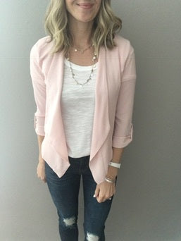 Lifted High Rose Blazer