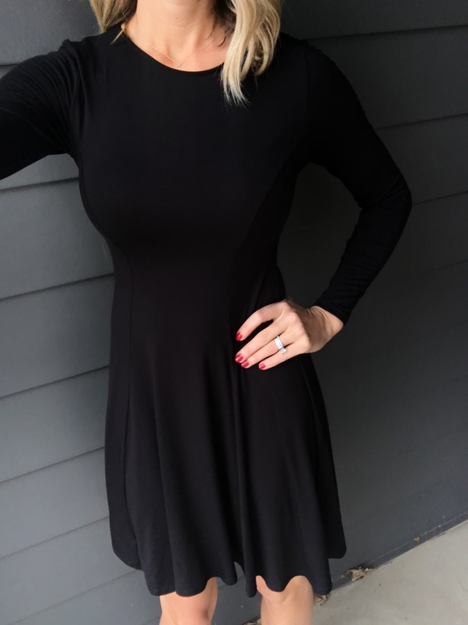 Name of Love Black Dress