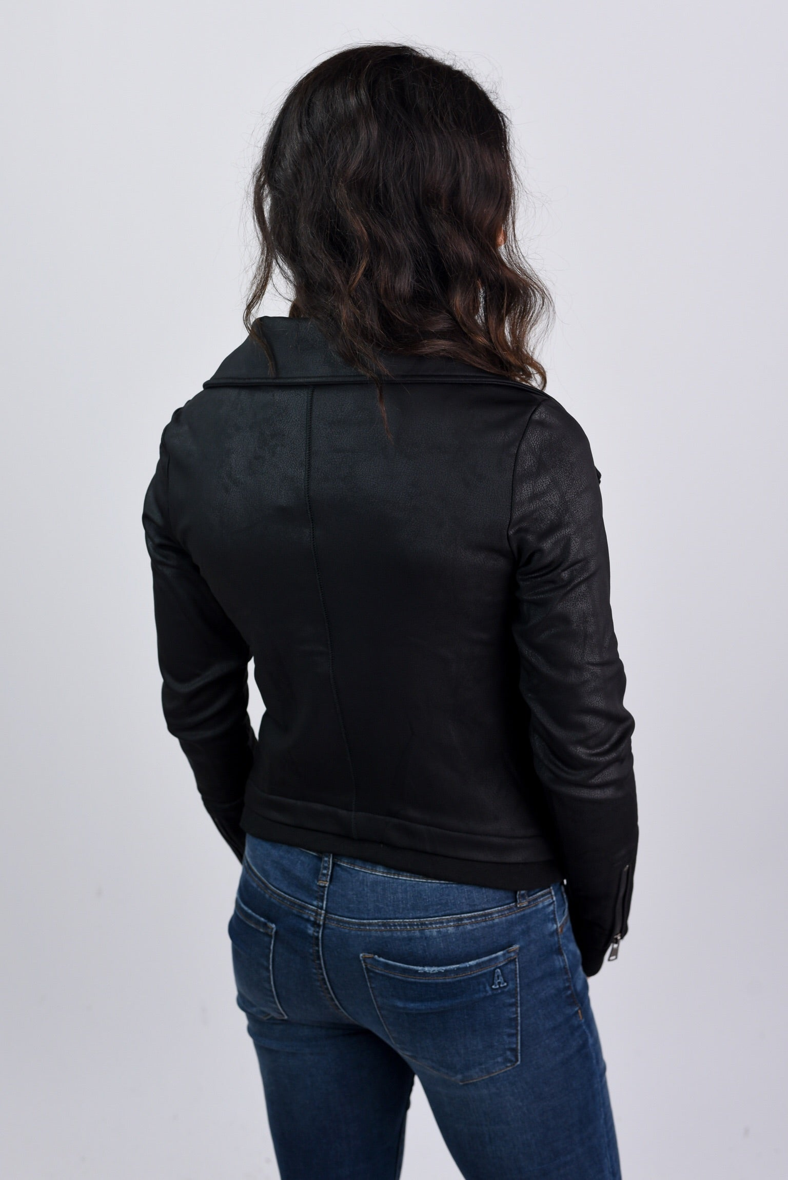 Fast Foward Black Moto Jacket