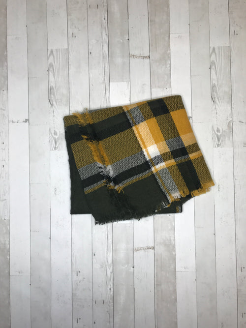 The Green Bay Blanket Scarf