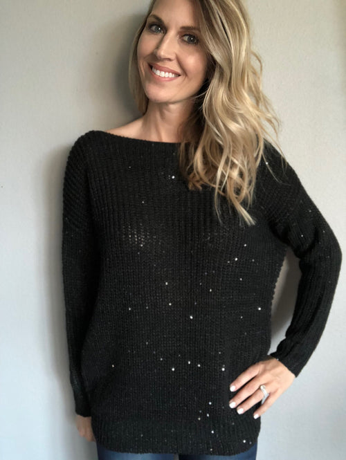 All About Sparkles Sweater
