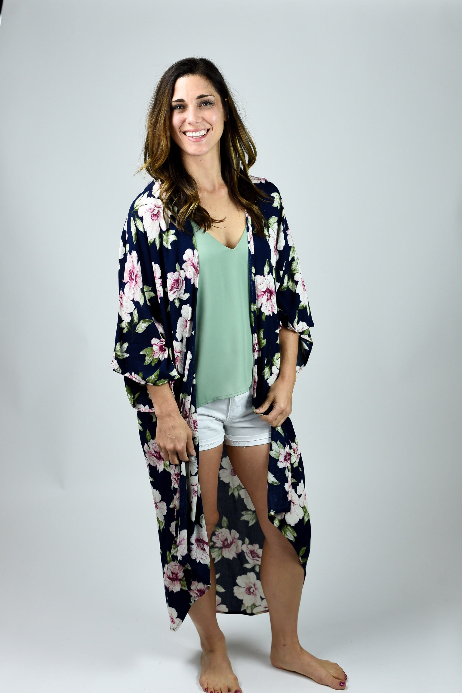 Going Great Lengths Floral Duster Kimono