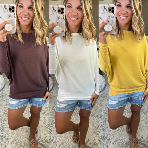 Take My Hand Knit Dolman- Multiple Options