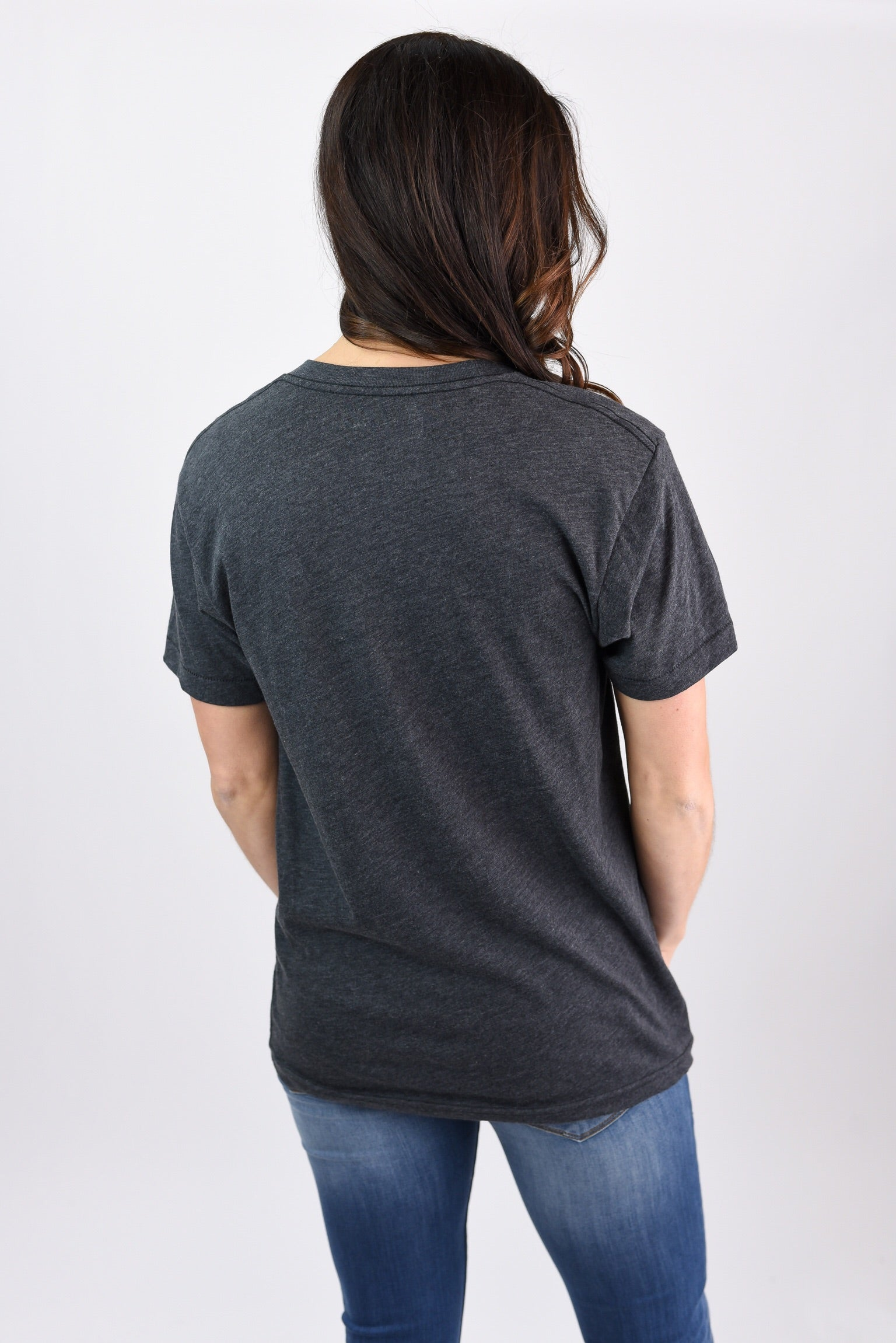 The Home Tee Charcoal Crew Neck