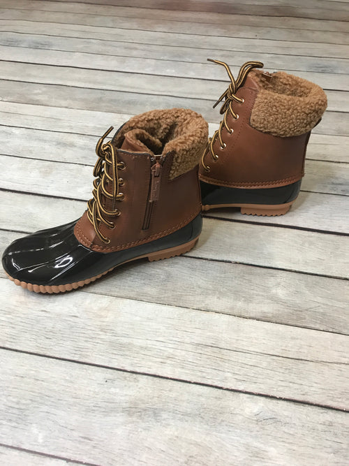 Ready for Anything Tan Duck Boots