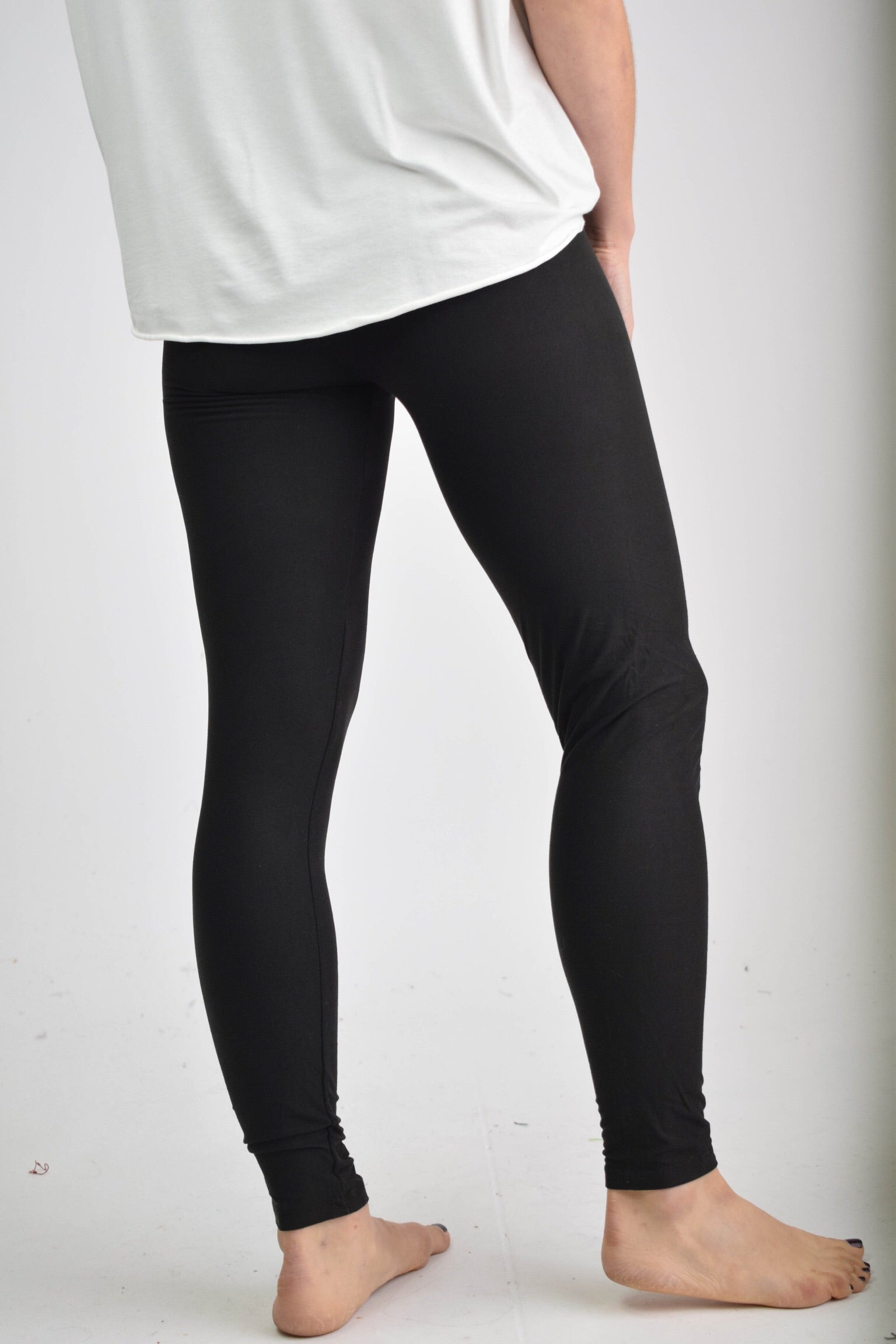 All Season Long Basic Black Legging