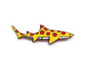 Pizza Shark Enamel Lapel Pin