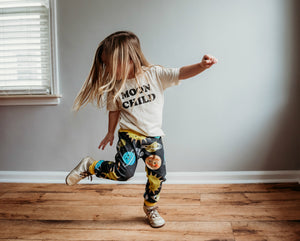 Space Friends Organic Knit Joggers