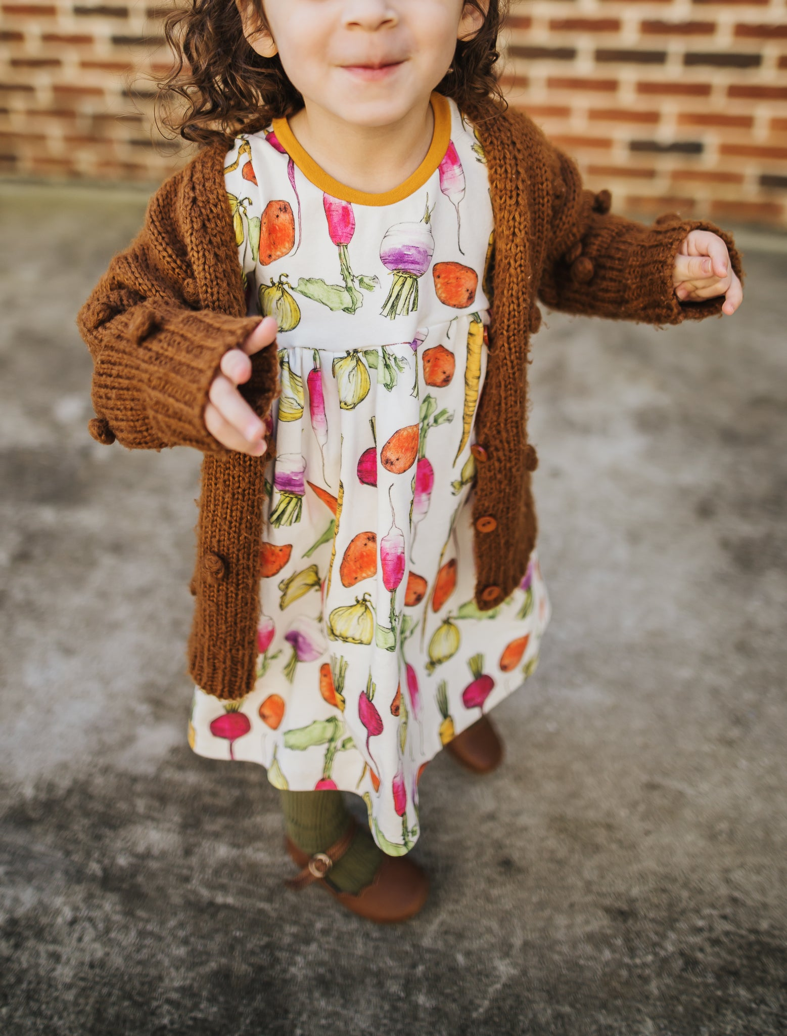 Garden Medley Organic  Dress