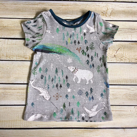Pick Your Pattern Organic T-Shirt For Adults - Little Green Bird